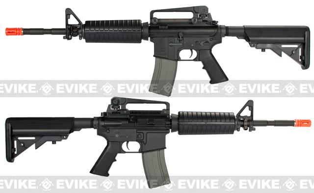 z ARES Full Metal M4A1 Carbine Airsoft AEG Rifle with ECU - Black