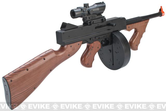 JG Tommy Gun Chicago Typewriter Airsoft Spring Rifle