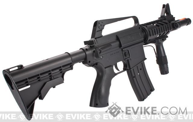 UK Arms High Power M16-A5 M4 CQB Full Size Airsoft Spring Rifle