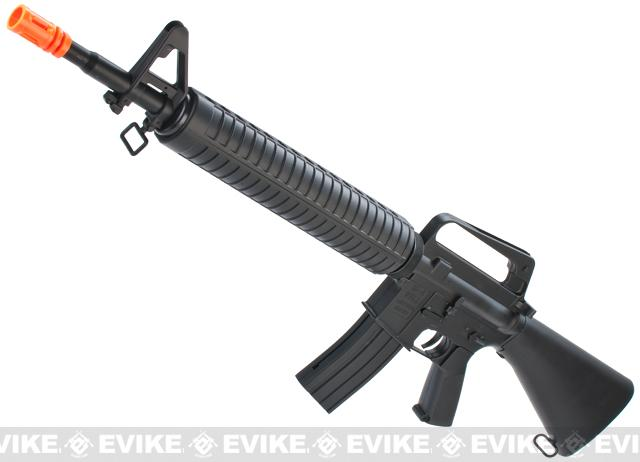 WELL / CSI Full Size M16A2 Airsoft Spring Rifle