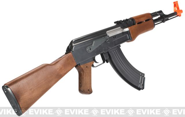 Full Size AK47 Replica Airsoft Spring Action Rifle with Full Stock