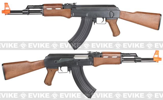 z Full Size AK47 Replica Airsoft Spring Action Rifle with Full Stock