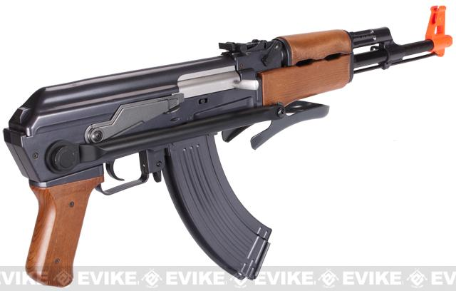 Full Size AK47-S Replica Airsoft Spring Action Rifle with Folding Stock