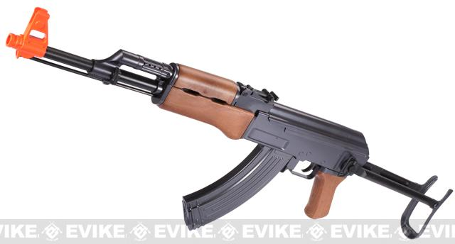 Bone Yard - Full Size AK47 Airsoft Rifle w/ Full Stock (Store Display, Non-Working Or Refurbished Models)