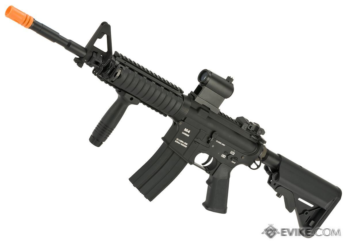 Pre-Order ETA May 2016 Classic Army M4 RIS Airsoft AEG Rifle  - Black