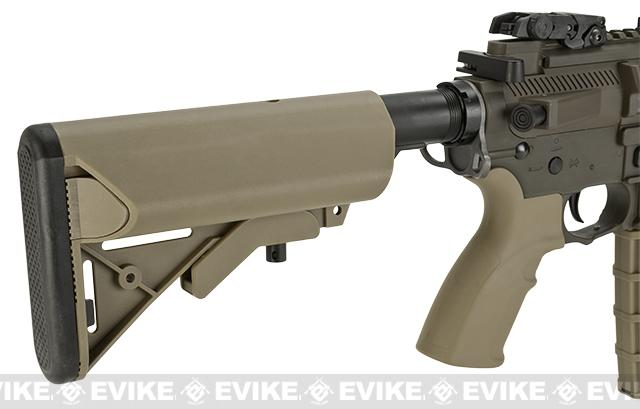 z BO-Dynamics / Lonex 10.5 Combat LT595 M4 SBR Airsoft EBB AEG Rifle - Tan / OD