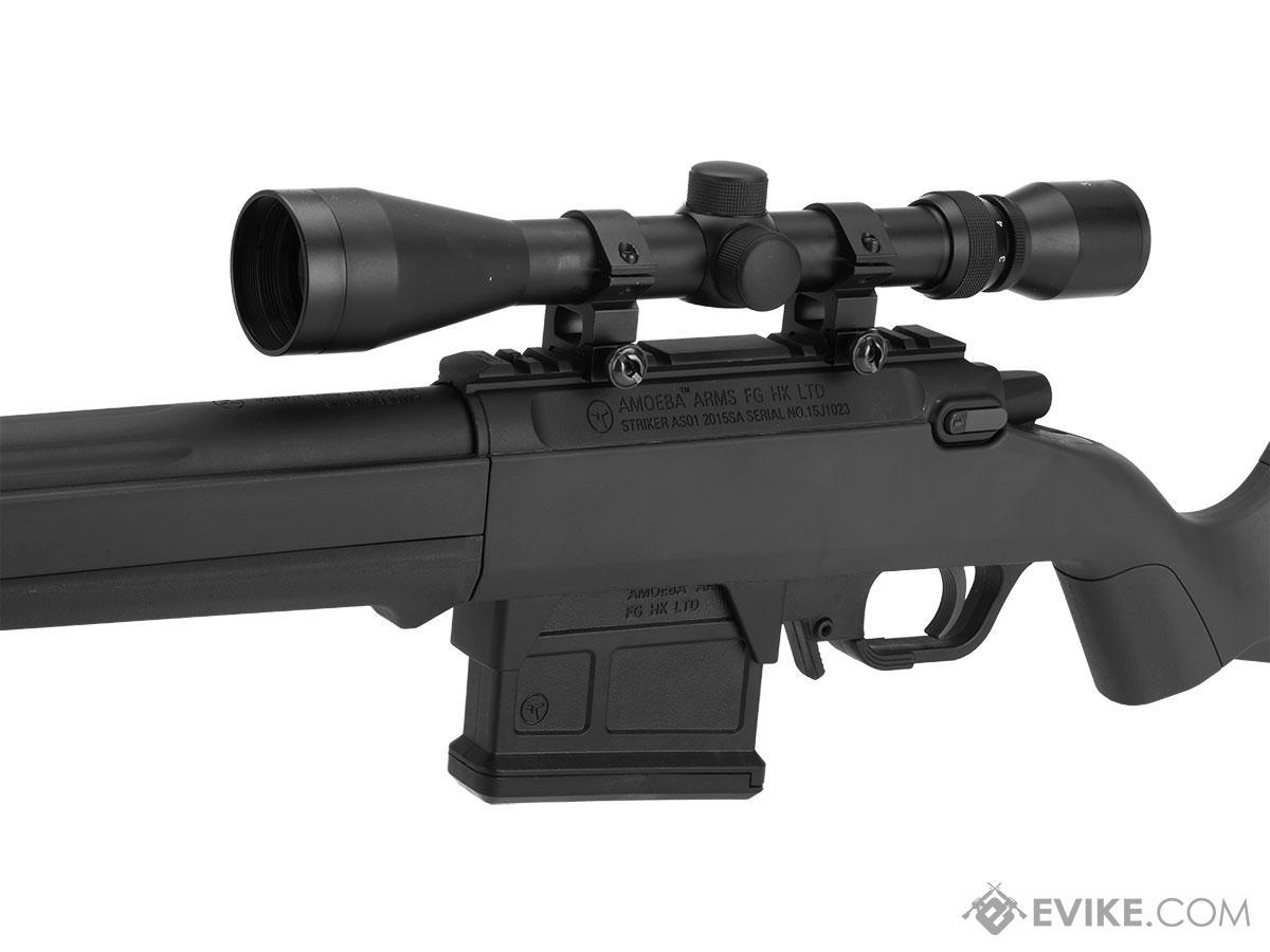 AMOEBA Striker S1 Bolt Action Sniper Rifle (Color: Black)