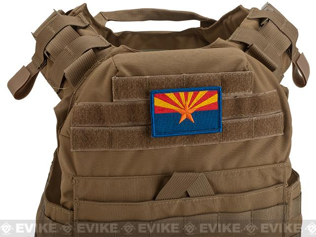 Evike.com Tactical Embroidered Flag Patch (State: Arizona The Grand Canyon State)