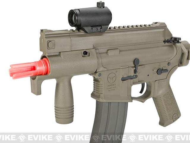 ARES Amoeba CCC M4 Airsoft AEG Machine Pistol - Dark Earth