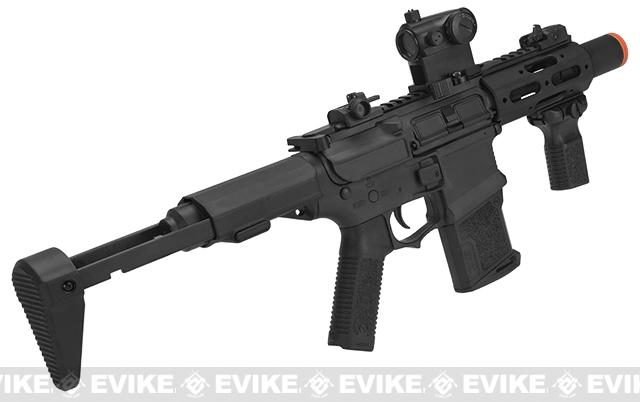 ARES Amoeba MR/E Micro CQB M4 Airsoft AEG - Black