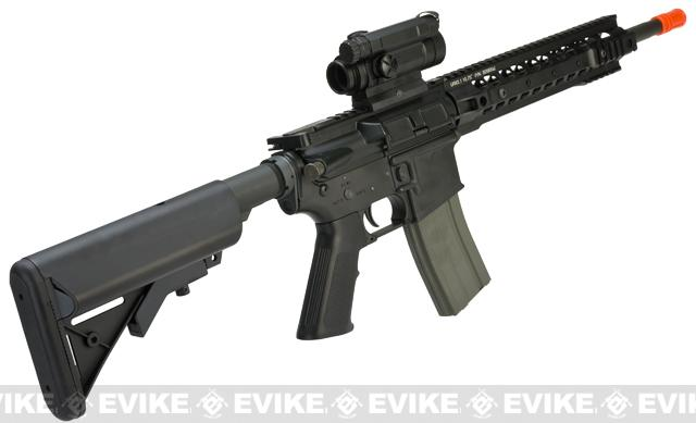 z ARES Full Metal NextGen URX 11.5 M4A1-E Carbine Airsoft AEG Rifle with ECU - Black