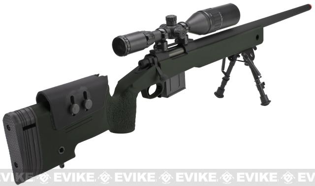 ARES MCM700X Airsoft Sniper Rifle - OD Green