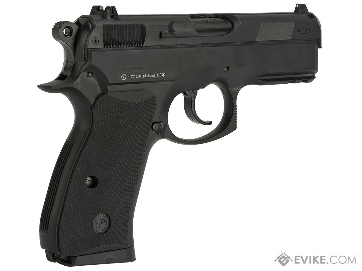 ASG CZ 75D Duty Non-Blowback Co2 4.5mm (.177 cal NOT AIRSOFT) BB Pistol - Black