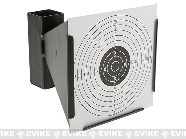 Stiff Card Paper Targets with Scoring Rings for Trap Style Targets - Pack of 100