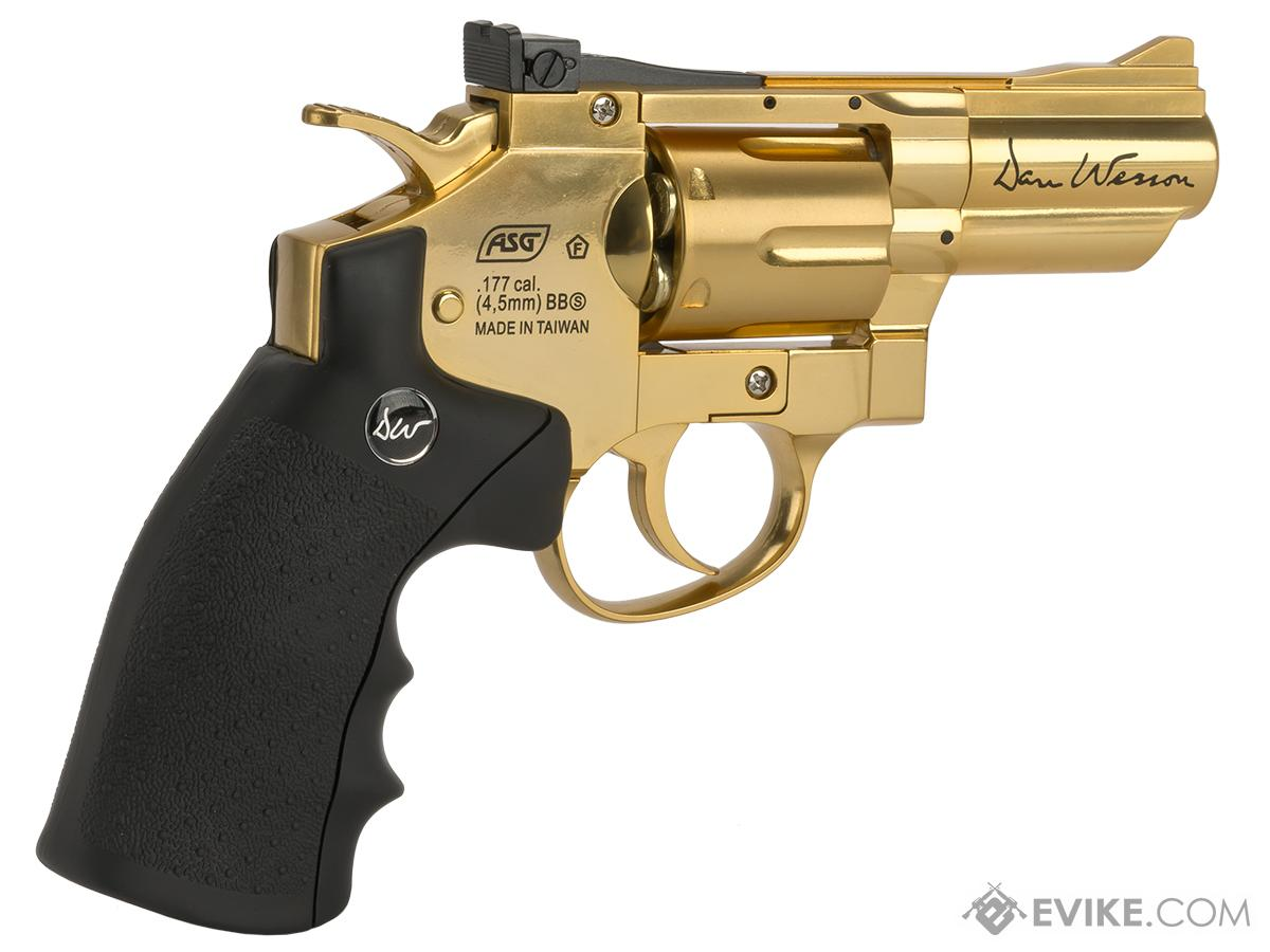 Dan Wesson CO2 Powered 2.5 4.5mm Airgun - Gold (4.5mm AIRGUN NOT AIRSOFT)