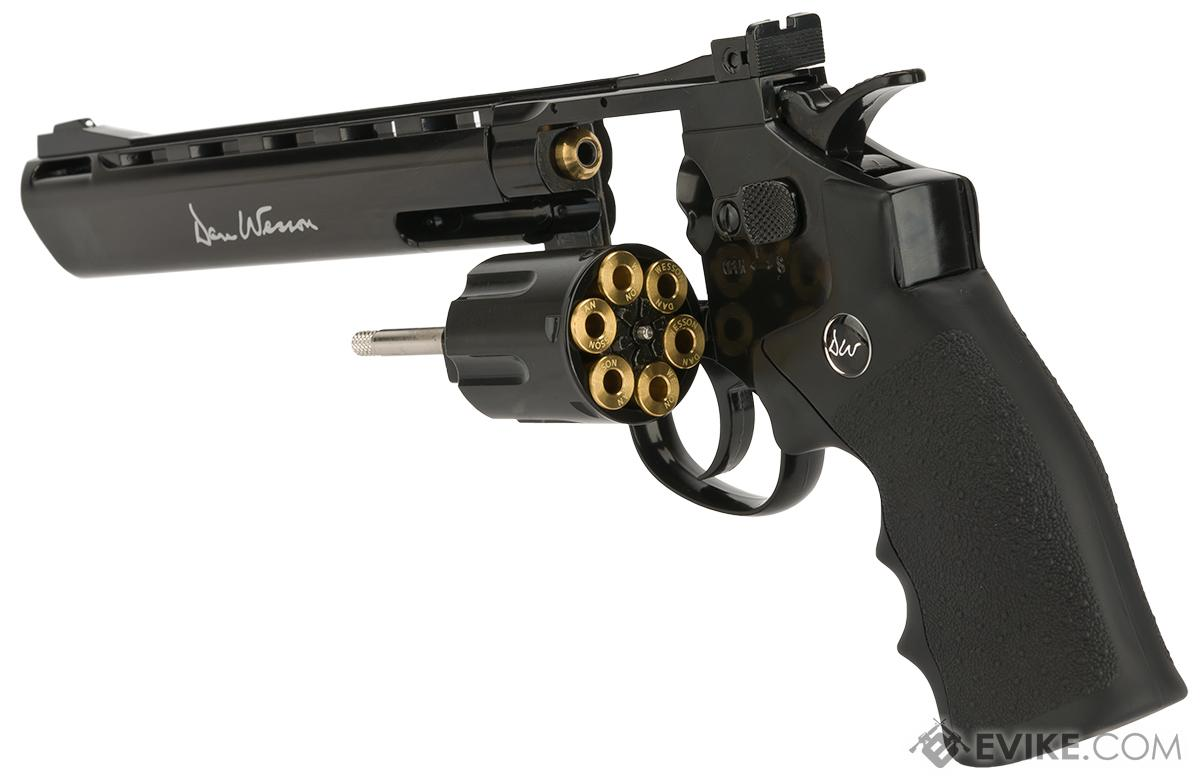 Dan Wesson CO2 Powered .177 Pellet Revolver with 8 Barrel - Black (.177 Caliber AIRGUN NOT AIRSOFT)