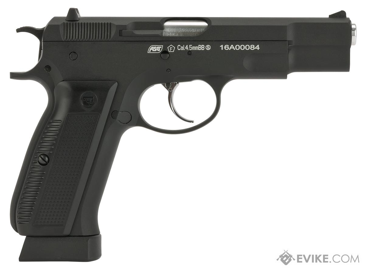 ASG CZ-75 CO2 Powered Blowback 4.5mm Air Pistol - Black (4.5mm AIRGUN NOT AIRSOFT)