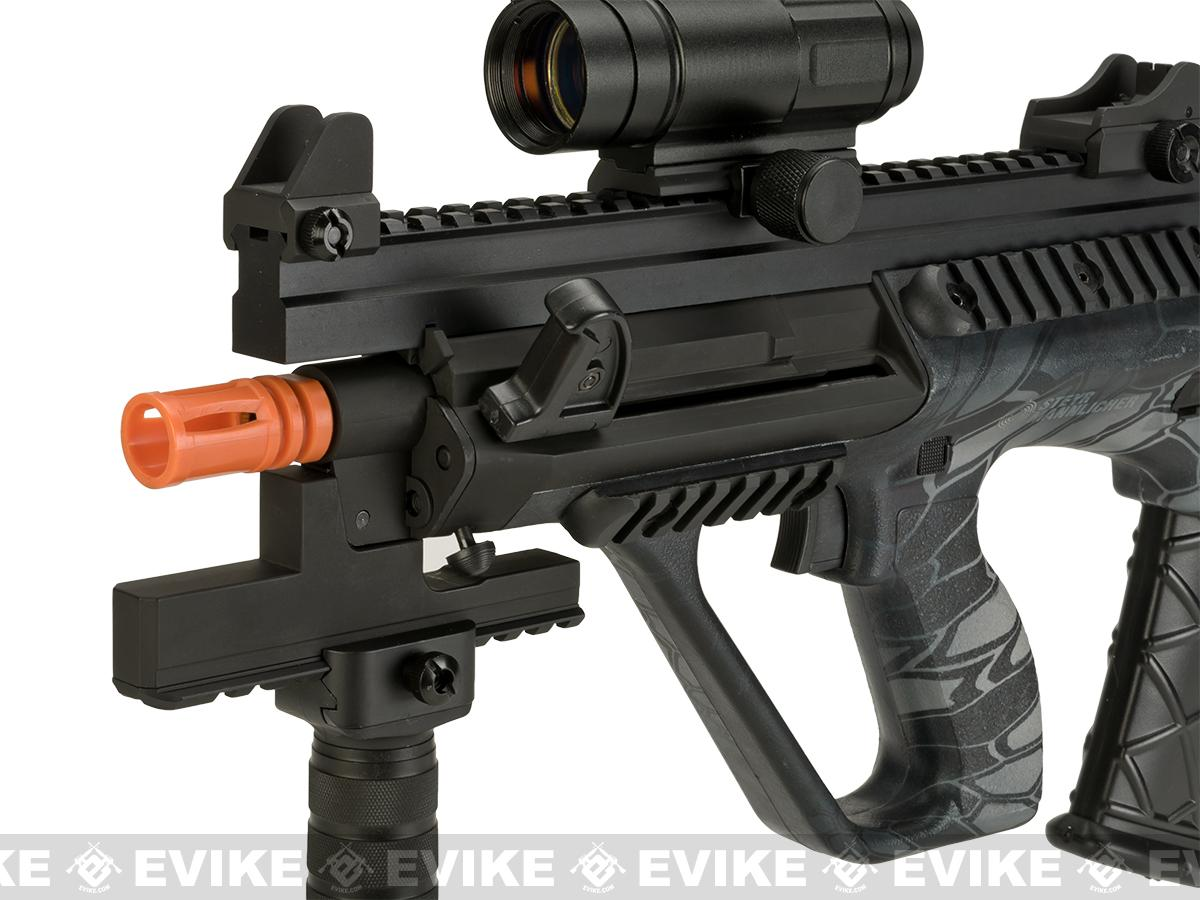 ASG Licensed Steyr AUG A3 XS Commando Airsoft AEG Rifle - Kryptec Typhon