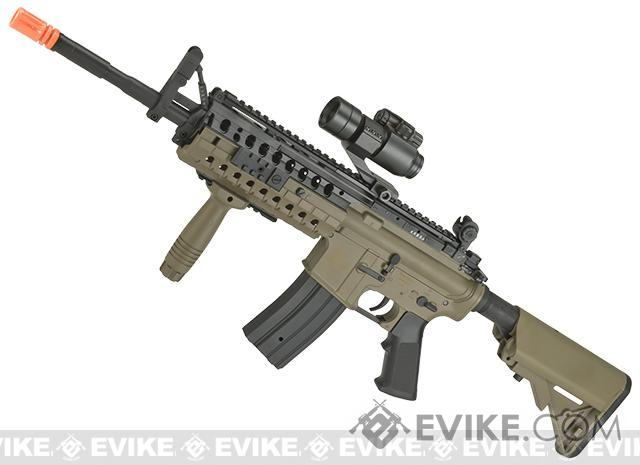 ASG Sportline ArmaLite M15 ARMS S.I.R.  System MOD. 2 M4 Airsoft AEG Rifle (Color: Desert Tan)