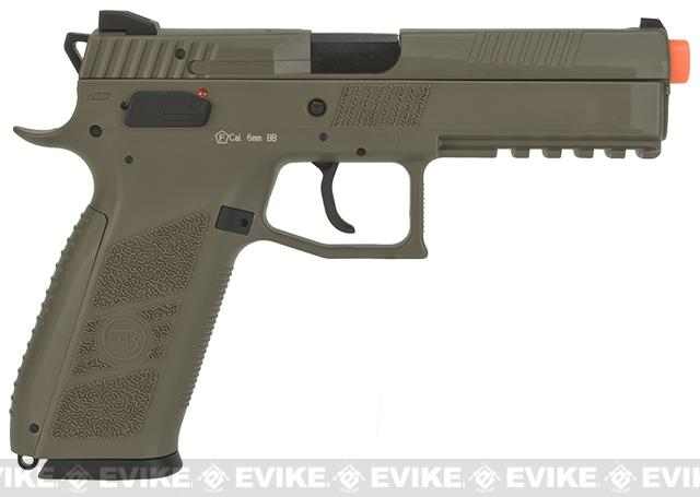 ASG CZ P-09 Polymer  Duty Airsoft GBB Pistol - Dark Earth