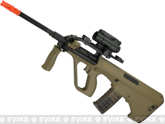 Evike.com Exclusive ASG Steyr Licensed AUG A2 Airsoft AEG Rifle (Color: Tan)