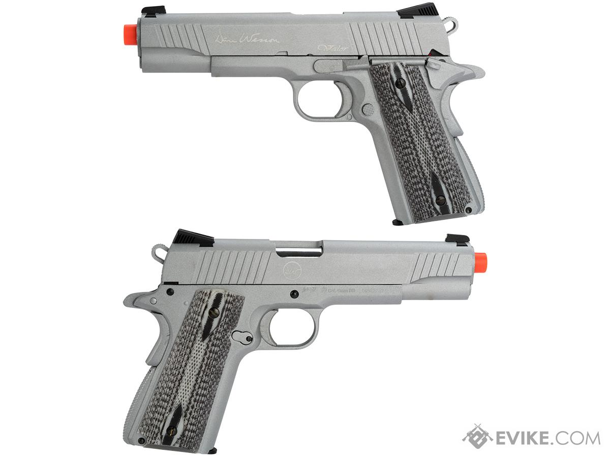 Pre-Order ETA May 2017 Dan Wesson VALOR 1911 Custom CO2 Powered Airsoft Gas Blowback Pistol (Evike Exclusive Model!)
