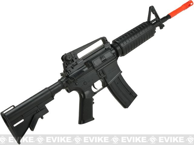 JLS M4 Full Size M4 Carbine Airsoft Low Power Airsoft AEG Electric Rifle Package