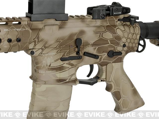 APS Silver Edge Gearbox Full Metal 10 M4 Airsoft AEG Rifle - Kryptek Nomad
