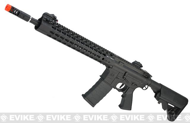 BoneYard - APS Silver Edge Gearbox Full Metal 12.5 M4 Airsoft AEG Rifle (Store Display, Non-Working Or Refurbished Models)