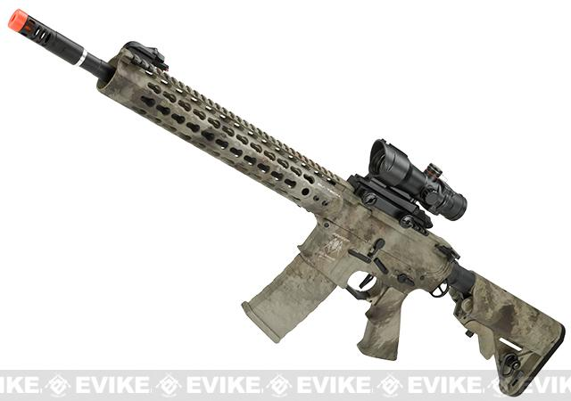 APS Silver Edge Gearbox Full Metal 12.5 M4 Airsoft AEG Rifle - A-TACS