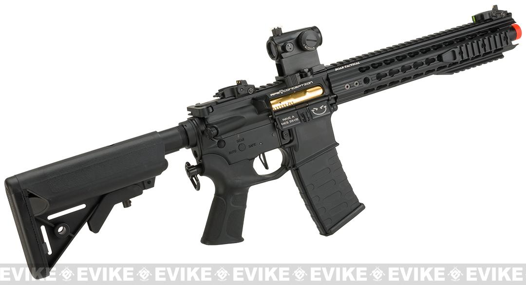 APS Boar Tactical Advanced Edition Custom Silver Edge Gearbox Full Metal AEG