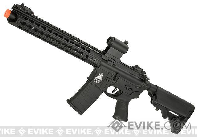 APS Boar Tactical Advanced Edition Custom Silver Edge Gearbox Full Metal EBB AEG