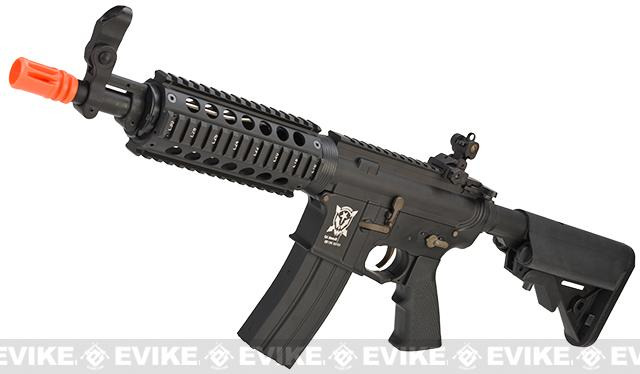 APS Full Metal M4 RIS CQB / R Non-Blowback Standard Airsoft AEG Rifle (Hybrid Gearbox)