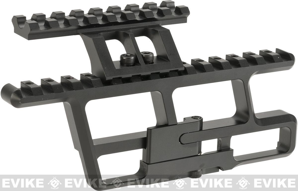 Asura Dynamics 30mm Short Rail Mount for AK series Airsoft Rifles Set