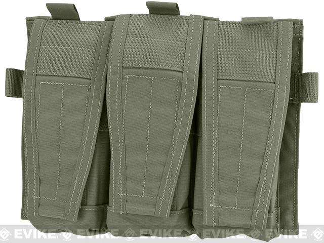 Pre-Order ETA April 2017 Crye Precision AVS Detachable Flap M4 Magazine Pouch - Ranger Green