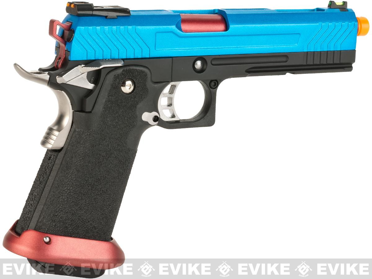 Pre-Order ETA June 2017 AW Custom Hi-Capa Competition Grade Gas Blowback Airsoft Pistol - Patriot