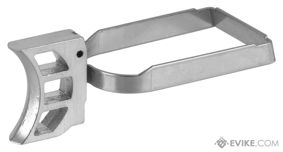 AW Custom Trigger Kit #0 for Hi-Capa Series Airsoft Pistols (Color: Silver)