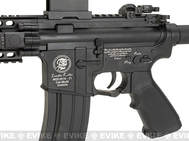 Matrix Full Metal Zombie Killer M4 Delta CQB Airsoft AEG Rifle by JG