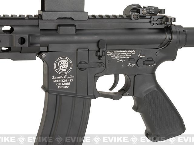 Matrix Full Metal M4 Zombie Killer Striker Airsoft AEG Rifle by JG