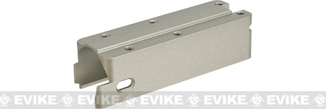 Azimuth CNC Machined Aluminum Blowback Housing for FNX-45 Tactical Series Airsoft GBB Pistols - Silver