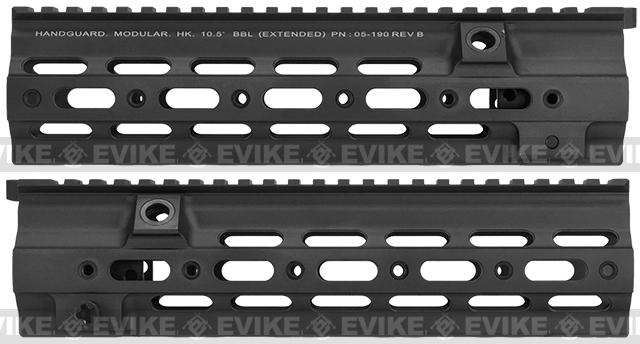 Azimuth Airsoft SMR 10.5 Rail for VFC/Umarex HK416 Series Airsoft Rifles - Black (With Markings)