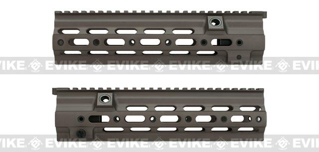 Azimuth Airsoft SMR 10.5 Rail for VFC/Umarex HK416 Series Airsoft Rifles - Tan (Without Markings)