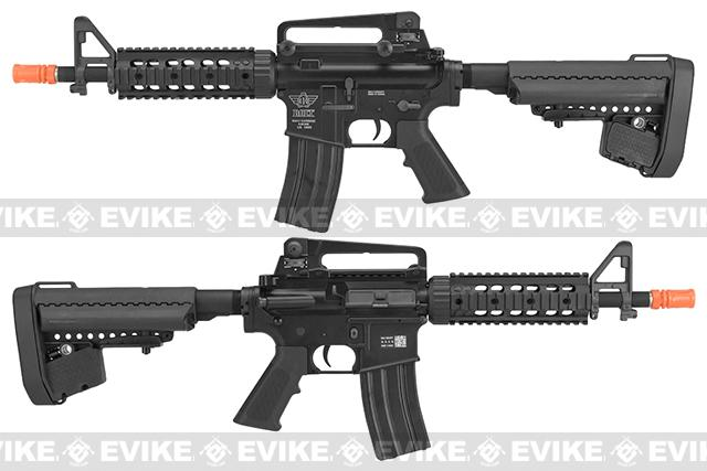 BOLT M4 Elite Force B.R.S.S. Full Metal Recoil EBB Airsoft AEG Rifle - Black