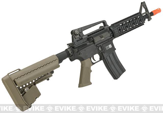 BOLT M4 Elite Force B.R.S.S. Full Metal Recoil EBB Airsoft AEG Rifle - Tan