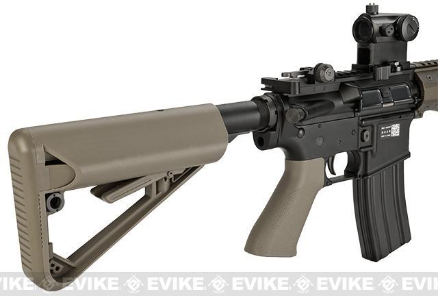 BOLT B4 13 KeyMod 2015 Enhanced Railed B.R.S.S. Full Metal EBB Airsoft AEG Rifle - Tan