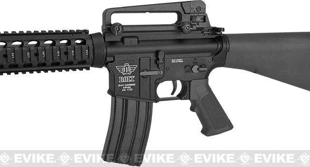 Pre-Order ETA October 2016 BOLT M16A4 Full Metal Recoil EBB Airsoft AEG Rifle - Black