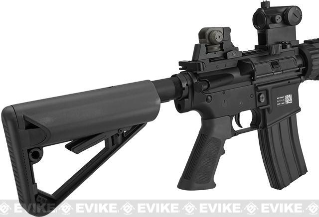 z BOLT M4 PMC Baby B.R.S.S. High Cycle Full Metal Recoil EBB Airsoft AEG Rifle - Black