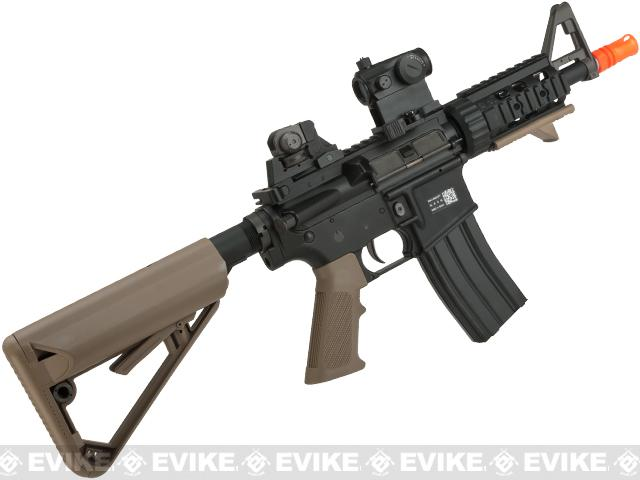 BOLT M4 PMC Baby B.R.S.S. High Cycle Full Metal Recoil EBB Airsoft AEG Rifle - Tan