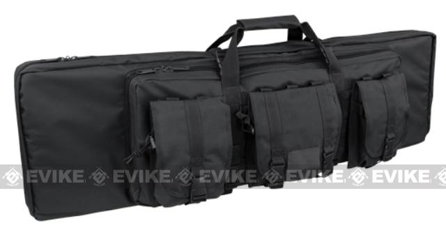 Condor 42 Tactical Padded Double Rifle Bag - Black
