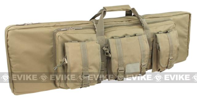 Condor 42 Tactical Padded Double Rifle Bag - Desert